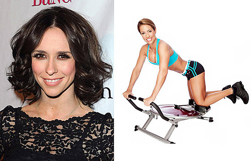 Jennifer Love Hewitt Works Out With the Ab Circle Pro