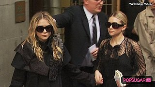 Mary-Kate and Ashley Olsen in NY