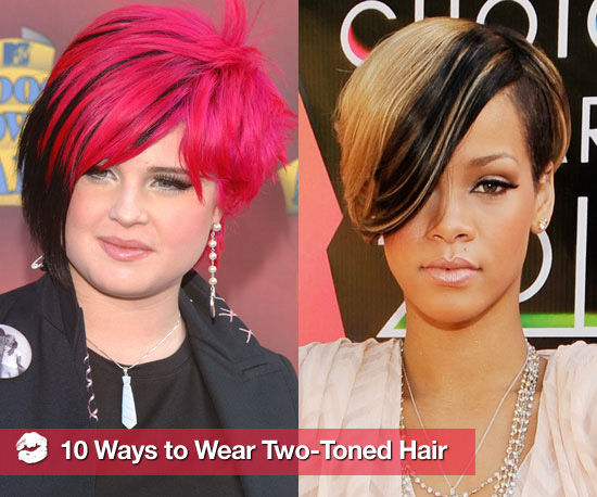 10 Ways to Wear Two-Toned Hair