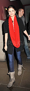 Selena Gomez Leaves Bluebird Restaurant in Chelsea