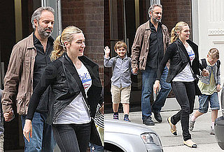 Photos of Kate Winslet, Sam Mendes, Joe Mendes, and Mia Threapleton Together in NYC