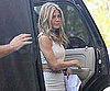 Slide Photo of Jennifer Aniston in LA