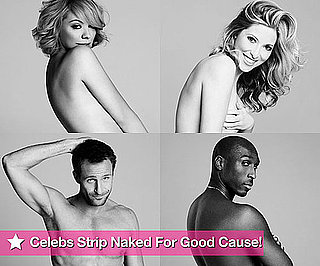 Photos of Naked Celebrities Liz McLarnon, Bruno Tonioli, Kate Walsh, Jeremy Sheffield For Give Up Your Clothes For Good