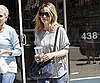 Slide Photo of Sarah Michelle Gellar Leaving Salon