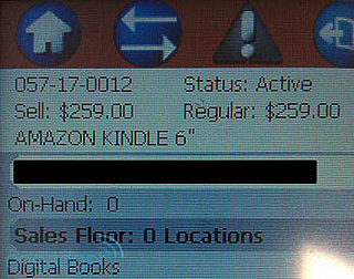 Will The Kindle Be Sold at Target on April 25?