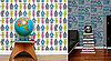 Robot and Analog Wallpaper from Aime Wilder