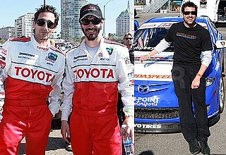 Photos of Patrick Dempsey, Keanu Reeves, Brian Austin Green and Adrien Brody at the Toyota Pro Celebrity Race