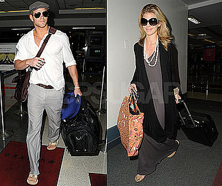 Photos of Twilight Star Kellan Lutz And Girlfriend AnnaLynne McCord at LAX