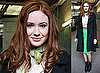 Photos of Karen Gillan From Doctor Who at ITV