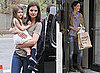 Pictures of Suri Cruise and Katie Holmes on Set of Son of No One in NYC
