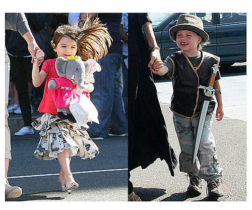 Celebrity Kids Make Their Own Fashion Statements