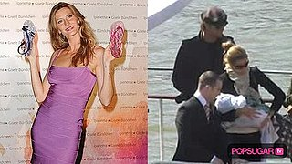 Video of Gisele Bundchen and Tom Brady With Their Baby on a Boat in Paris 2010-04-09 09:39:12