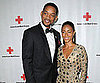 Slide Picture of Will Smith and Jada Pinkett Smith at Red Cross Fundraiser