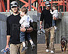 Pictures of Tom Brady with Son Jack in LA