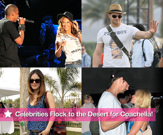 Pics: Celebrities Flock to the Desert For Coachella!