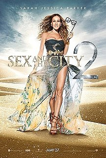 New Sex and the City 2 Poster Features Sarah Jessica Parker as Carrie Bradshaw in the Desert 2010-04-13 11:03:17