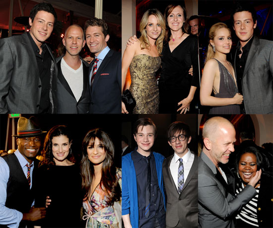 Pictures of Glee Cast Members Lea Michele, Cory Monteith, Jane Lynch, Matthew Morrison and More