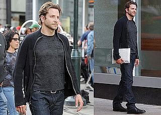Pictures of Bradley Cooper Filming The Dark Fields in Philadelphia