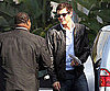 Slide Picture of Cory Monteith in LA