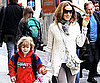 Slide Picture of Sarah Jessica Parker and James Wilkie in NYC 2010-04-14 04:30:00