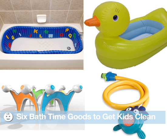 Six Bath Time Goods to Get Kids Clean