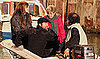 Pictures of Angelina Jolie And Brad Pitt With His Mother Jane Pitt on a Boat in Venice