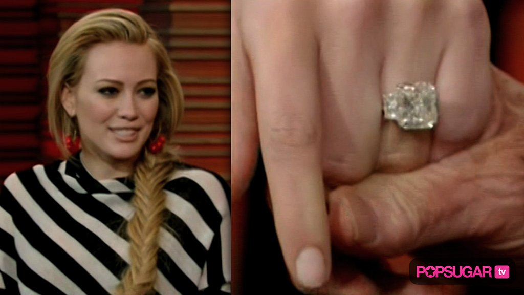 Hilary Duff Engagement Ring And Wedding POPSUGAR Celebrity