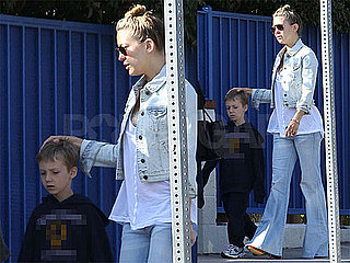 Pictures of Kate Hudson and Ryder Robinson Showing Off His New Shorter Hairdo