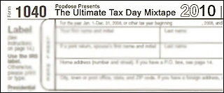 Tax Day Music Playlist Based on Form 1040