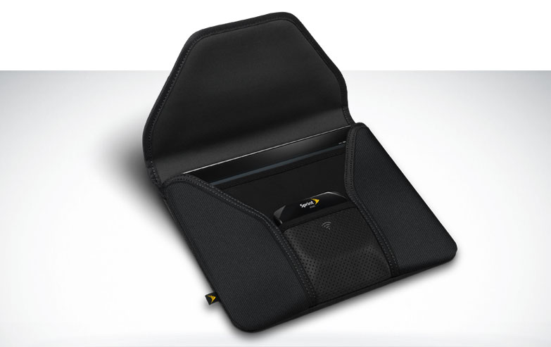 Photos of the Sprint iPad Overdrive Case