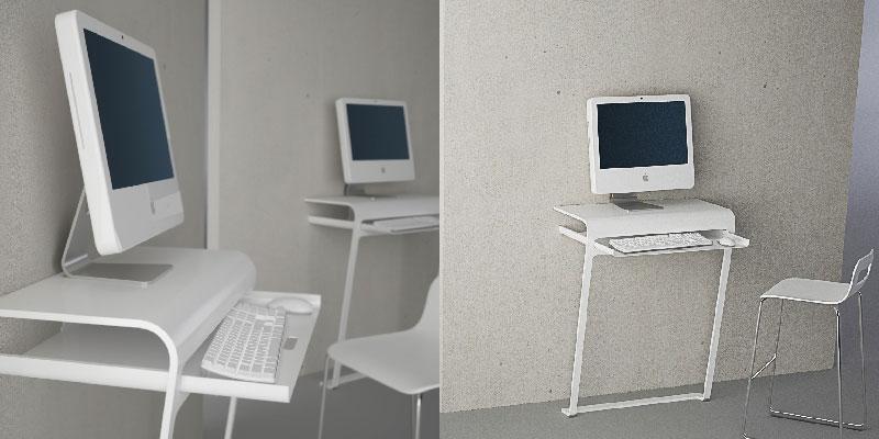 design semi assembled minimal contemporary computer desk pine ebay