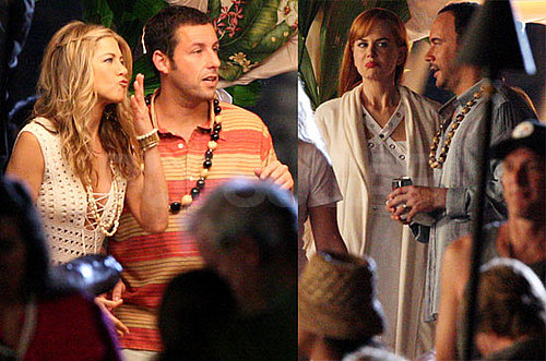 Photos of Jennifer Aniston, Adam Sandler, Nicole Kidman And Dave Matthews Filming Just Go With It