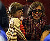 Picture of Maggie Gyllenhaal at the Airport in NYC With Daughter Ramona Sarsgaard