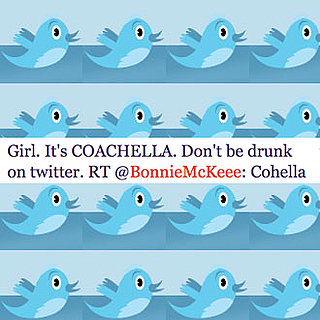 Celebrity Twitter Tweets About Coachella