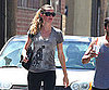 Slide Picture of Gisele Bundchen Leaving LA Gym