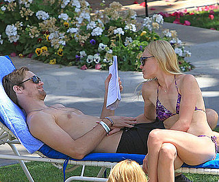 Slide Picture of Kate Bosworth and Alexander Skaarsgard Shirtless and in a Bikini