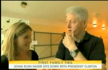 Bill Clinton Interviewed by Jenna Bush About Chelsea's Wedding on Today Show