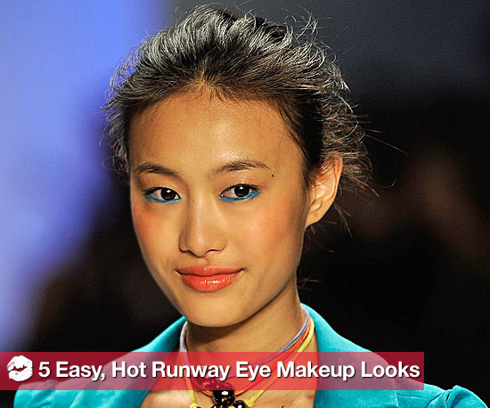 5 Easy, Hot Eye Makeup Looks From the Spring Runways
