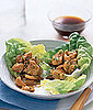 Chicken and Cashews in Lettuce Cups Recipe