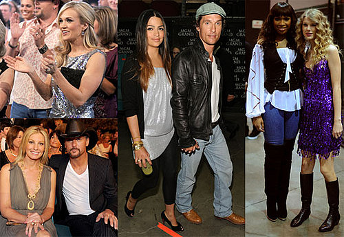 Photos of Matthew McConaughey, Faith Hill, Jennifer Hudson, Tim McGraw, And Taylor Swift Celebrating Brooks & Dunne 2010-04-20 18:30:24