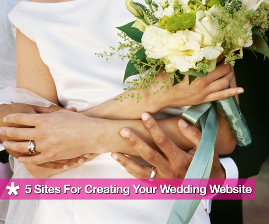 5 Sites For Creating Your Wedding Website