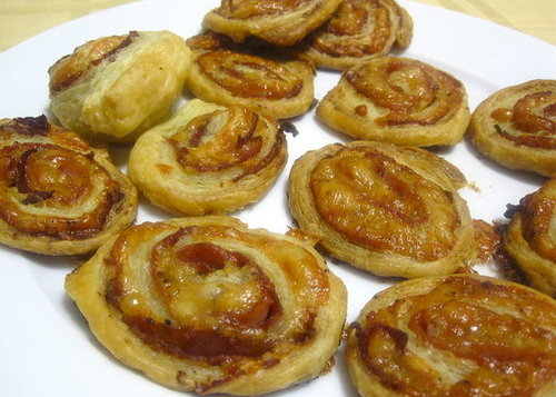 Ham and Cheese Pinwheels Recipe