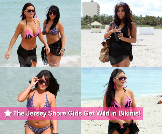The Jersey Shore Girls Get Wild in Bikinis!
