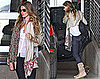 Pictures of Gisele Bundchen Leaving LA Studio