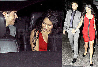 Pictures of Zac Efron and Vanessa Hudgens Leaving Dinner Together in Hollywood