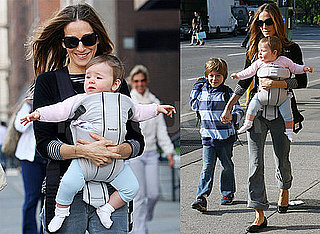 Pictures of Sarah Jessica Parker Bringing Son James Wilkie to School in NYC 2010-04-22 13:30:00