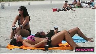 The Jersey Shore Girls in Bikinis