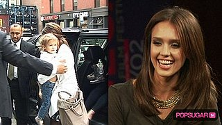 Jessica Alba and Honor Warren in New York City For Tribeca Film Festival