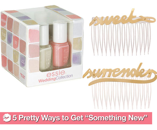 "5 Pretty Ways to Get ""Something New"""