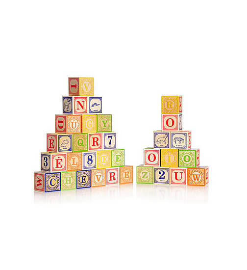 Uncle Goose Wooden Alphabet Blocks
